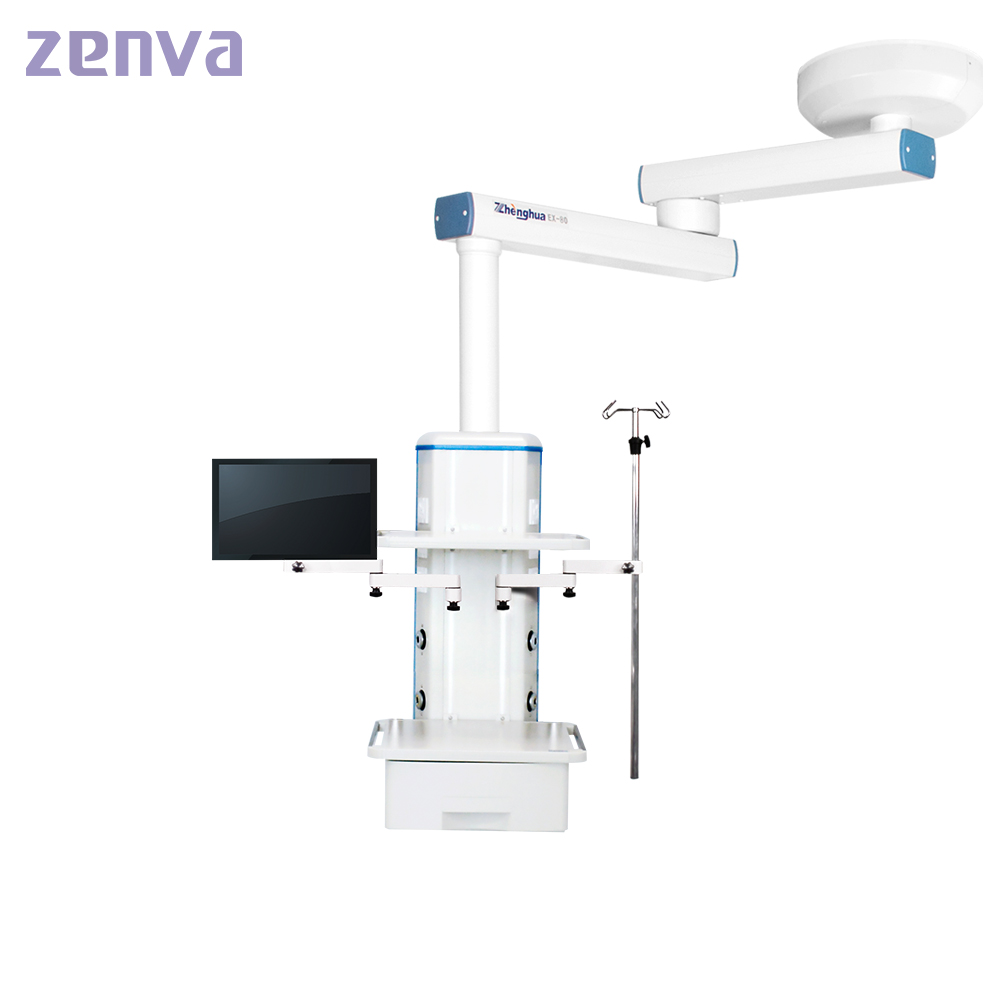 Doubld Arm Medical Ceiling Type Endoscopy Pendant For Operating Room