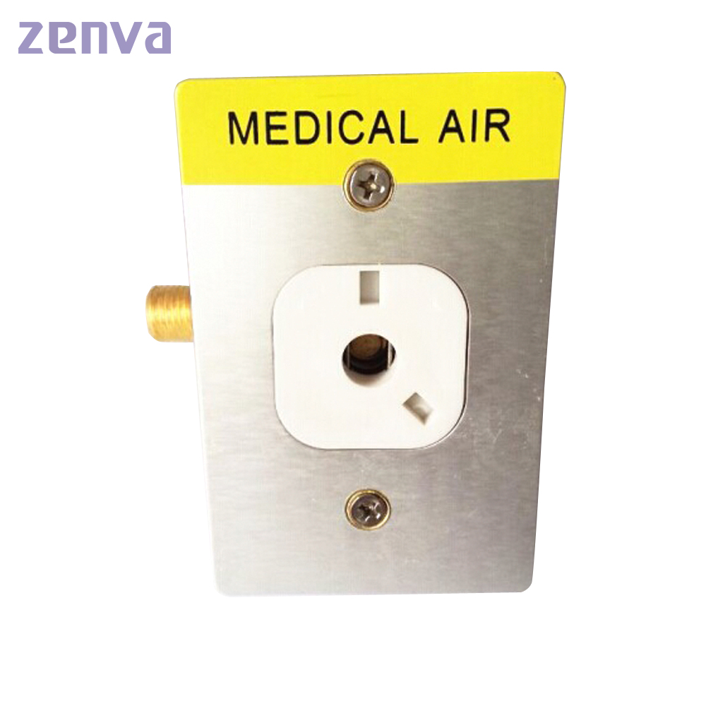 Medical American Standard Gas Oxygen Outlet Hospital Oxygen Terminal Unit